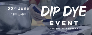 Dip Dye Event by The Budims am 22.Juni 2019 im Raimundhof / Wien