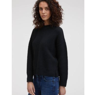 DENHAM Trudy Texture Mix Pullover